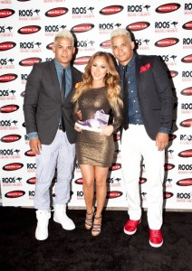 Adrienne Bailon & Shane & Shawn Ward