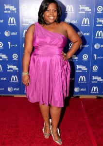 Amber Riley - UNCF Evening Of Stars - September 25, 2010