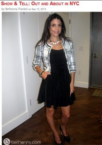 Bethenny Frankel in SIC Couture