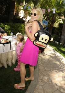 Busy Phillipps and Paul Frank