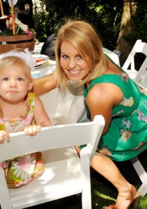 Candace Cameron Posing with Niece