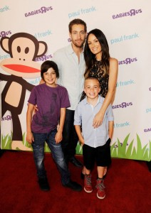 Catt Sadler and family