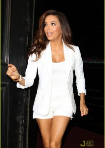 Eva Longoria in Franklin + Gower