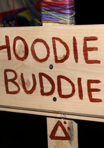 Hoodie Buddie Sign