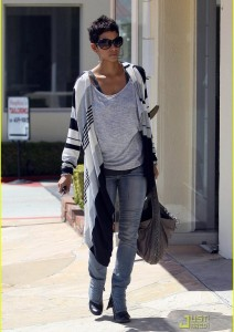 Halle Berry starts her week with a Little Shopping