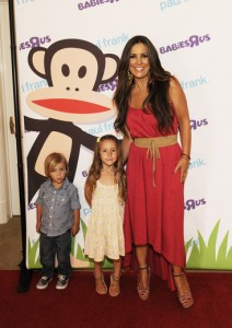 Jillian Barberie with children
