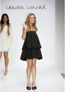 Lauren Conrad Runway Show - Mercedes Benz Fashion Week, Smashbox Studios