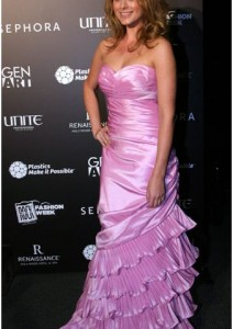 Lo Bosworth- Pink Dress Collection Fashion Show November
