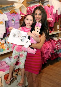 Samantha Harris and daughter