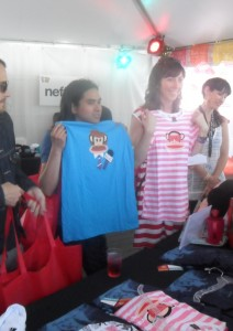 Silver Sun Pickups at Paul Frank Table