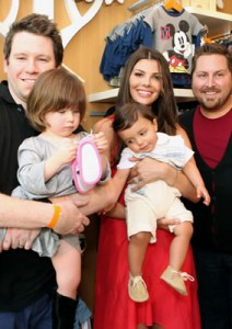 The Guncles and Ali Landry