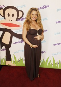 Tiffany Thornton on red carpet