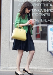 Zooey Deschanel in Tulle
