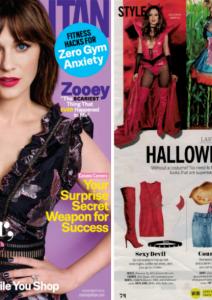 AMI Clubwear in Cosmopolitan Magazine