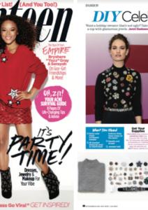 AMI Clubwear in Seventeen Magazine