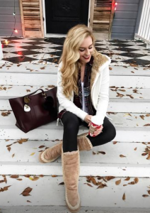 A Pinch Of Lovely in Mou boots