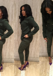 Angela Simmons in Tamar Collection