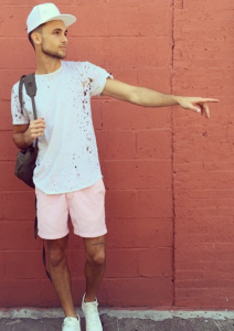 Blogger Bastien Grimel in Tribe Kelley