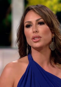 Kelly Dodd Wearing Carole Shashona Diamond Earrings