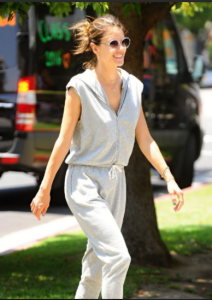 Alessandra Ambrosio in Grey State  (Photo Source: HawtCelebs.com)