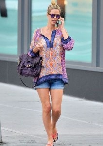 Nicky Hilton in Tolani (Source: PacificCoastNews)